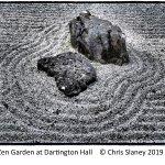 Zen Garden.  Dartington Hall