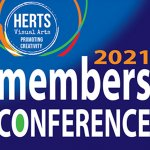 Herts Visual Arts January Members Conference 2021 goes Virtual