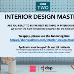 Interior Design Masters is back and looking for new designers