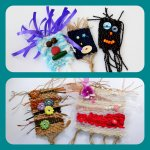 Wonderful Weaving and Monster Faces
