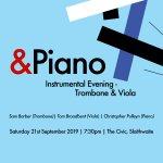 &Piano 2019 Event 3 - Instrumental Evening