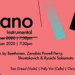 &Piano Music Festival 2020 Instrumental Event