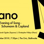 &Piano Music Festival Event 3 - An Evening of Song