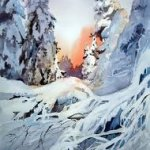 Autumn and Winter in Watercolour