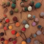 Autumn Wreath Felting Workshop at Colne Valley Museum