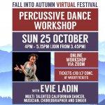 Dance Workshop (Fall into Autumn Virtual Festival)