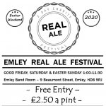 Emley Real Ale Festival 2020