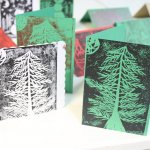 Festive Lino Printing at The Peppercorn