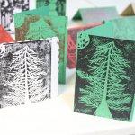 Festive Lino Printing Workshop at Holmfirth Tech, 13/11/19 7-9