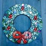 Festive Wreath Mosaic Workshop