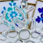 Fused Glass Giant Snowflake - XMAS SATURDAY WORKSHOP