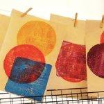 Gelli Printing - CREATE! Workshop at WYPW