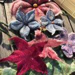 Giant Flower Felting Workshop at Colne Valley Museum