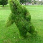 Grass Man at Holmfirth Arts Festival 2019