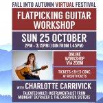 Guitar workshop (Fall into Autumn Virtual Festival)