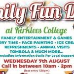 Kirklees College Free Family Fun Day
