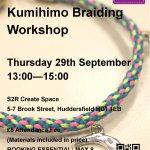 Kumihimo Braiding Workshop