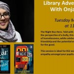 Library Adventures Live! with Onjali Q.Rauf