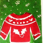 Linocut Christmas Cards – CREATE! Workshop at WYPW