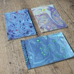 Marbling & Book Binding Workshop at Frill & Flounce