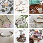 Metal Stamping Jewellery -WEDNESDAY WORKSHOP