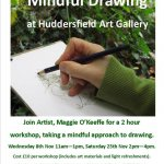 Mindful Drawing at Huddersfield Art Gallery