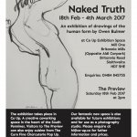 Naked Truth Exhibition at Co Up