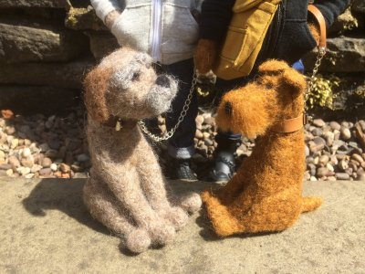 Needle Felting Workshop - Heartfelt Dogs. Saturday November 10th