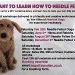 NeedleFelting Workshops