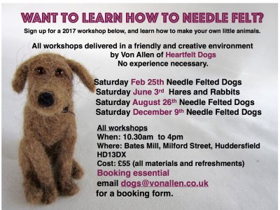 NeedleFelting Workshops