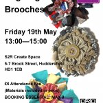 Rag Rug Brooches Workshop