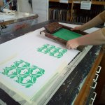 Screen Print onto Textiles