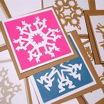 Screen Printing Christmas Cards and Wrapping Paper: CREATE!