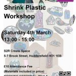 Shrink Plastic Jewellery at S2R Create Space