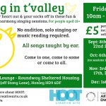 Sing in t'valley | Harmony singing taught by ear