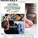 Slow Stitch Saturday - Stitching Mandalas