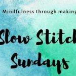 Slow Stitch Sunday in the Byram Art & Design Studio