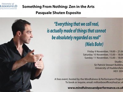 Something From Nothing: Zen in the Arts - Workshop by Pasquale