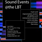Sound Events @ the LBT / August