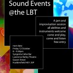 Sound Events @ the LBT / Oct 2018