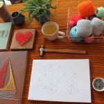 String Art Workshop at the Peppercorn
