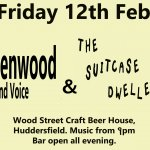 The Suitcase Dwellers and Dan Greenwood - Live at Wood Street