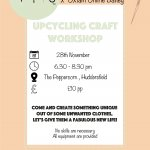 Upcycling craft workshop x Oxfam Online Batley