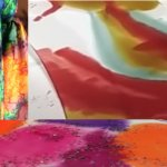Workshop: Silk Scarf Painting, Bagshaw Museum (session 1)