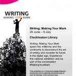 Writing: Making Your Mark Cleckheaton