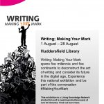 Writing: Making Your Mark Huddersfield