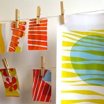 WYPWcourses - Experimental Screen Printing with Paper Stencils