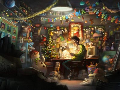 Arthur Christmas film (animation) with Holmfirth Film Festival