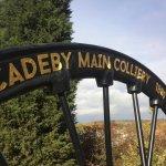Cadeby Main Pit Wheel Memorial.