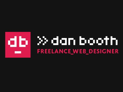 Dan Booth, Freelance Web Designer